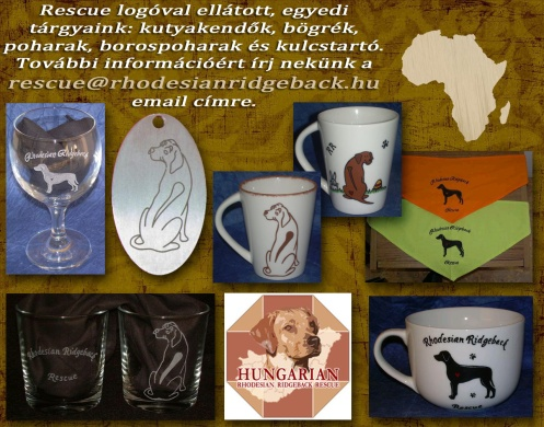 Rhodesian Ridgeback fajtamentés ajándéktárgyak